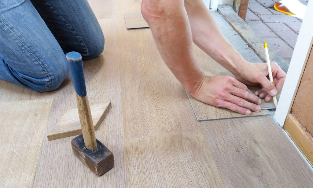 Rifacimento del pavimento
