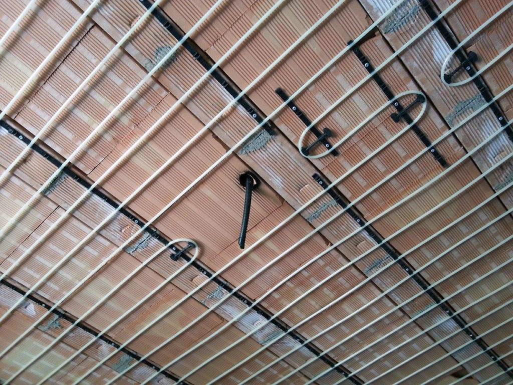 Impianto di riscaldamento a soffitto